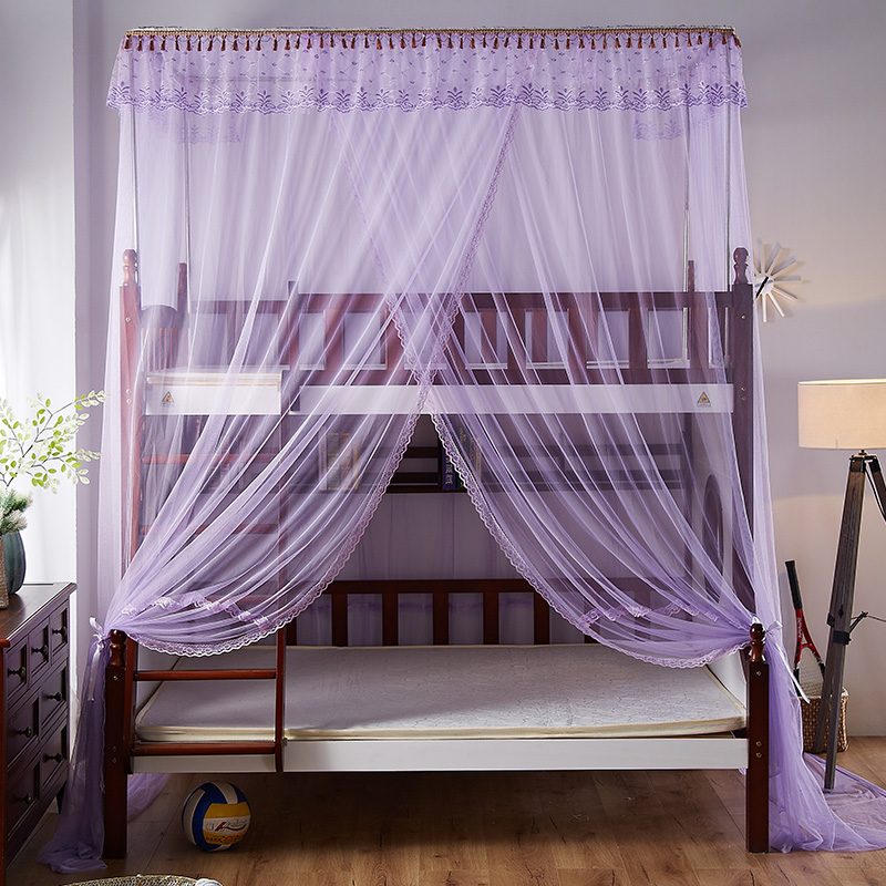 安金蚊帐 新款子母床直梯格林童话--紫色