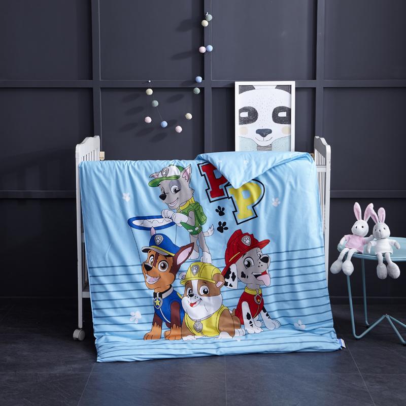御棉坊全棉大版活性幼儿园儿童被子 被套被芯卡通冬被