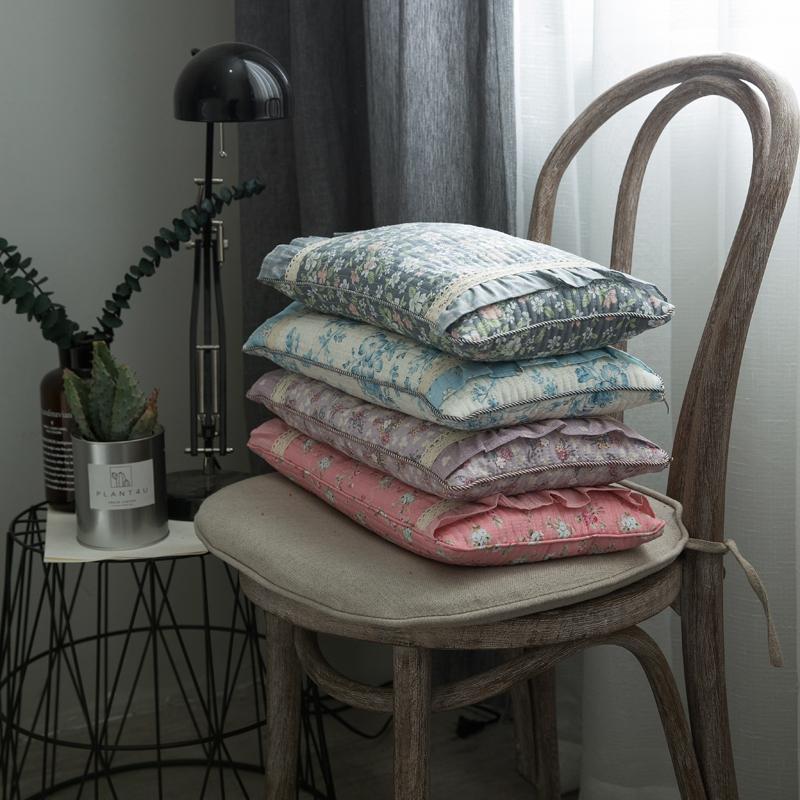 她喜爱 小米壳枕芯 经典时尚绗绣小方枕