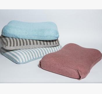 无印乳胶枕配套枕套天竺针织棉枕套全枕套棉水洗棉枕套