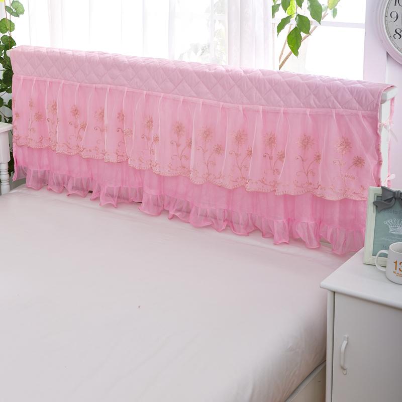 璐妃尔 夹棉蕾丝床头罩