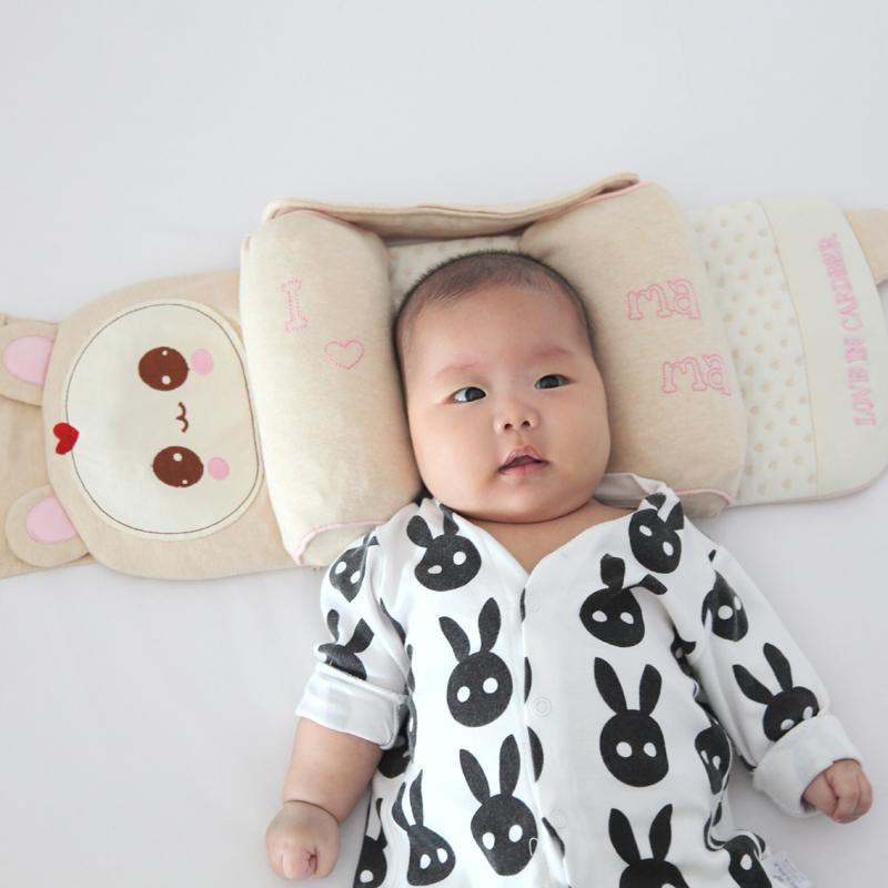 纯天然无印染婴儿防偏头枕头已申请国家专利