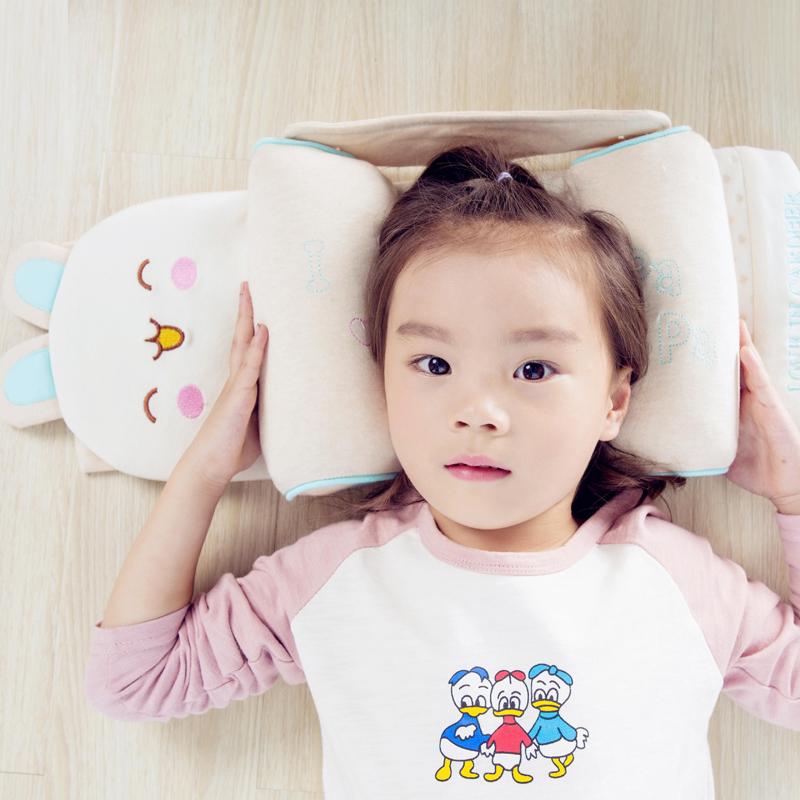 纯天然彩棉 婴儿枕 多功能定型枕,拒绝印染给宝宝最好睡眠