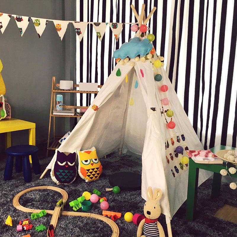 adl潮品 儿童室内游乐园帐篷故事屋 宝贝的秘密花园 摄影棚道具
